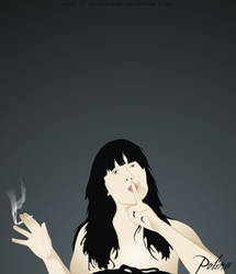 Polina Voloshina. Vector. 2006. by deepdesign