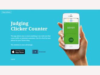 Clicker Website by deepdesign