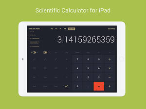 Calculator for iPad Interface