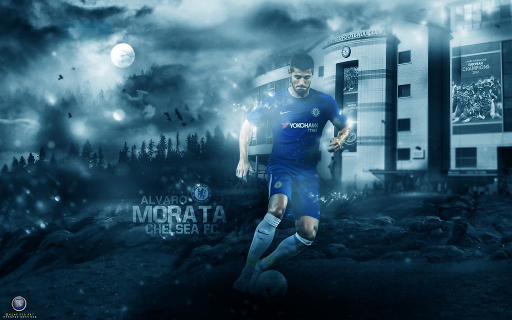Alvaro Morata Wallpaper 2017