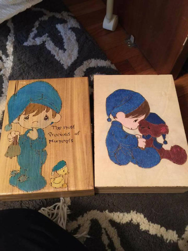 keepsake boxes by chellememe