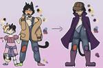 Katt and Kitt reference sheet