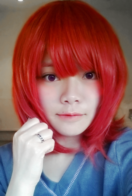 Maki Wig arrived! by SpicaRy