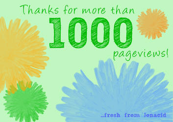 Thanks 1000+ by Jonacid