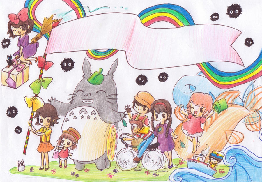 Studio ghibli parade by kawaiisweetie chan on deviantart studio ghibli parade by kawaiisweetie chan bookmarktalkfo Choice Image