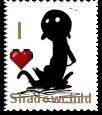 Shadowchild Stamp by DJKibyKat
