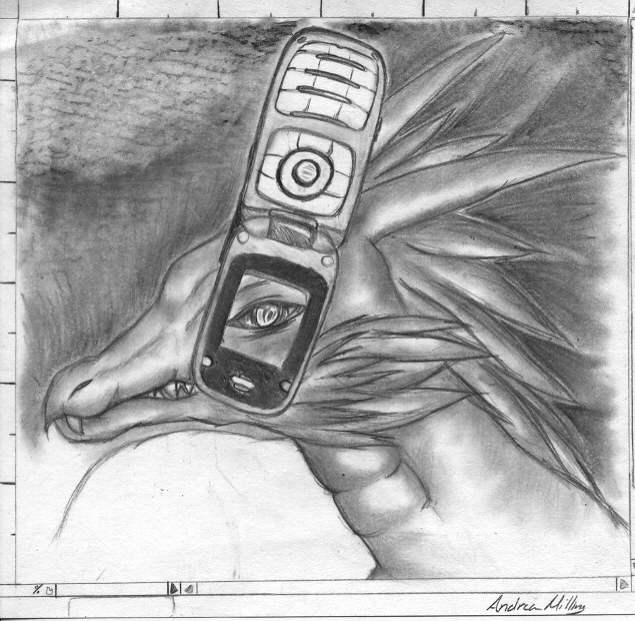 Cell Dragon by NeyokoChalimar