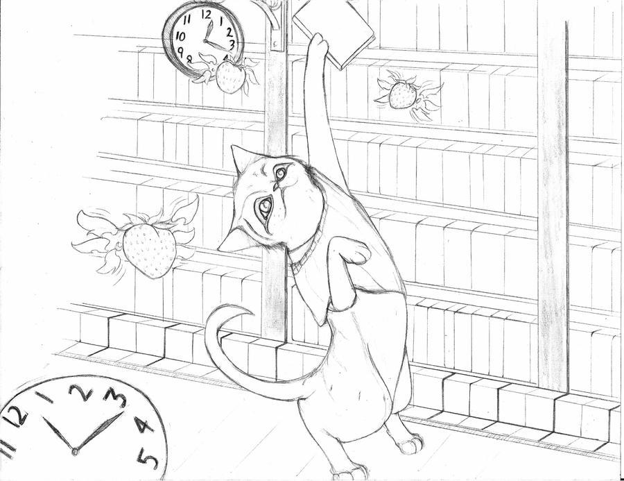 One Cat Contest by NeyokoChalimar