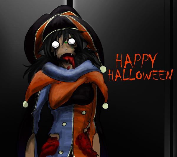 Zombie ween by NeyokoChalimar