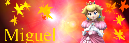 firma peach by miguel4000
