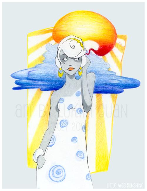Little Miss Sunshine by Lukiih
