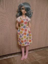 Sweetheart Candy Dress by KupcakeKitty