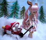 Reindeer Games by KupcakeKitty