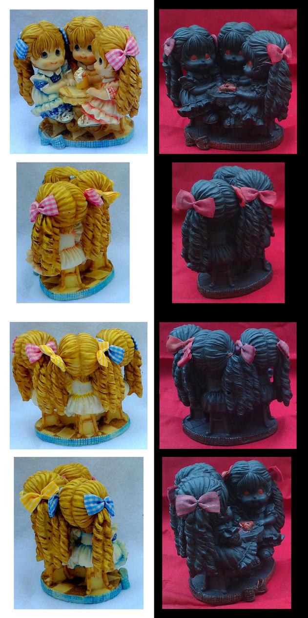 Haunted Thrift Store Figurines by KupcakeKitty