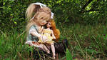 I Love My Dolly by KupcakeKitty