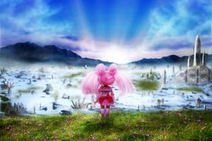 Looking Towards the Future by KupcakeKitty