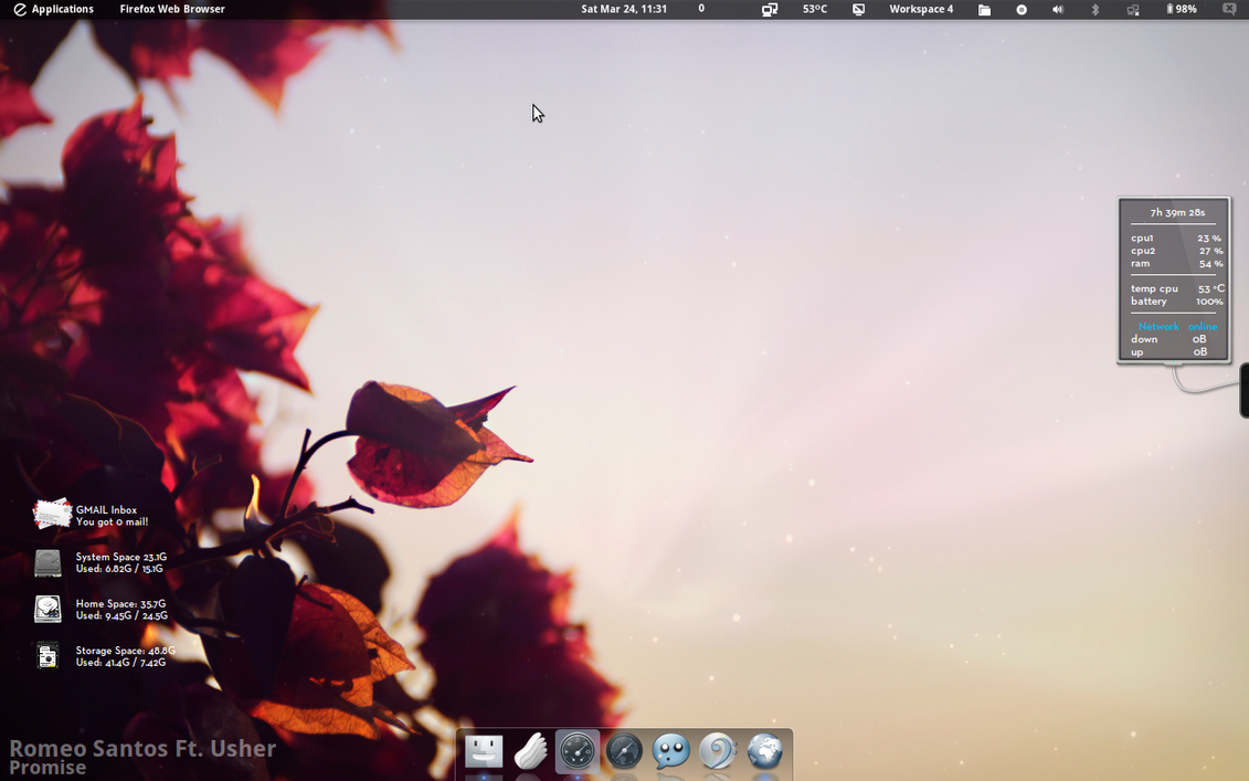 Simple Desktop by yo-bhan