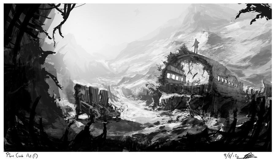 Crash site by JasonClarkDesign
