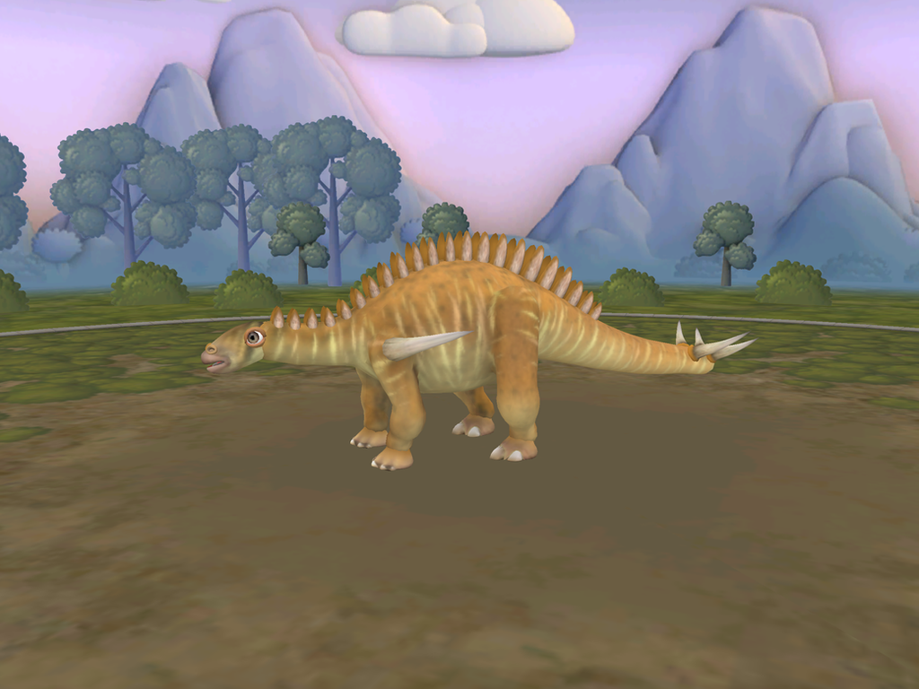 Tuojiangosaurus Male by Dracorexius