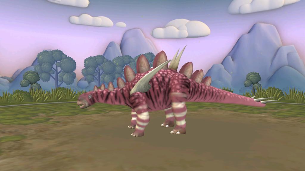 Updated Gigantspinosaurus by Dracorexius