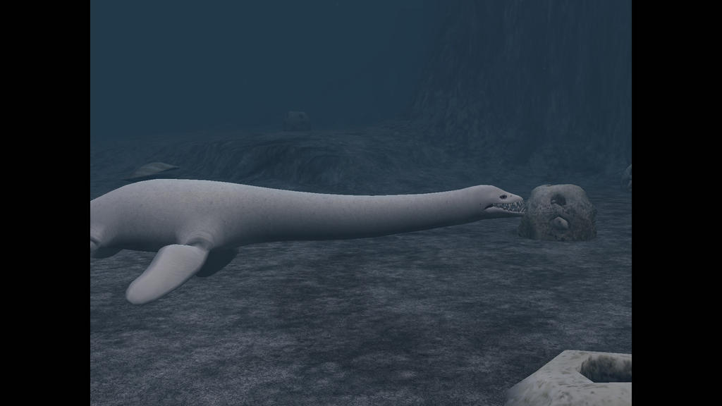 Woolungasaurus Calf feeding by Dracorexius