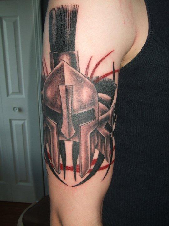 Spartan Tattoo by ~Redmond91 on deviantART