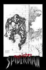 synister spiderman by Guidotoon