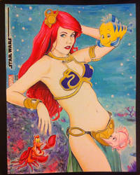 Maidofmight little Mermaid Star Wars by kevinsunfiremunroe