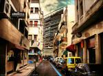 Casablanca narrow street