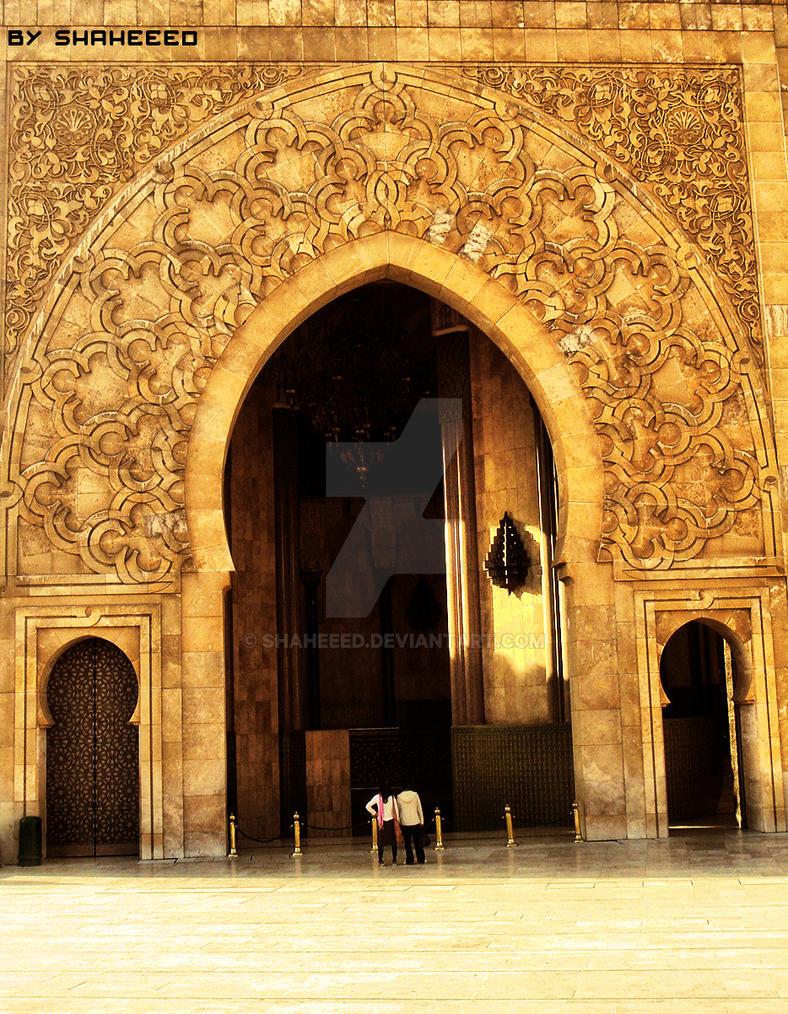 People Vs Building,mosque Door By Shaheeed ...