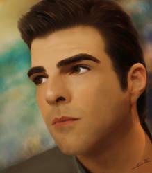 Zachary Quinto by JustKari