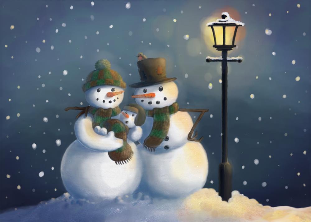 Snow Family by Chris-Garrett