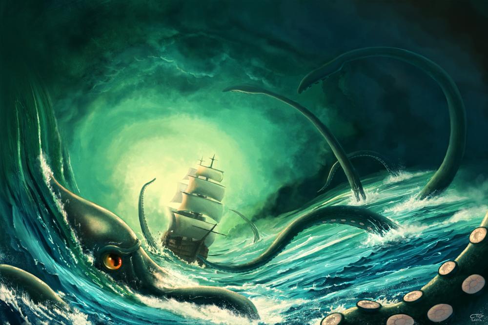 Kraken (version 2) by Chris-Garrett
