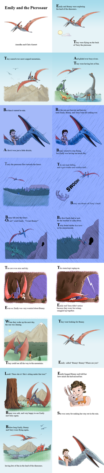 Emily and the Pterosaur by Chris-Garrett