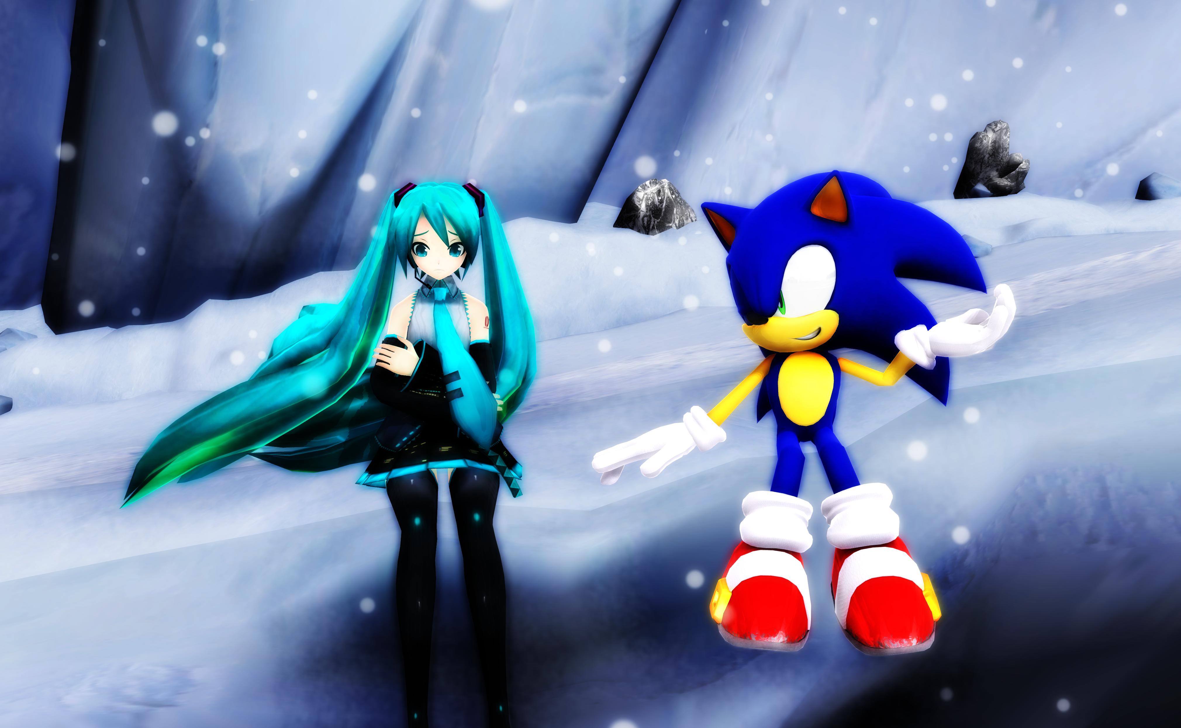 A cool world by BluexBlur