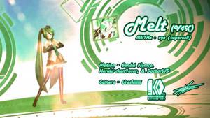 MMD: Hatsune Miku ~ Melt V4X by BluexBlur