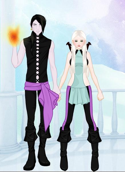 Zander and Aida by PrincesaSevilla on DeviantArt Zander Ascension
