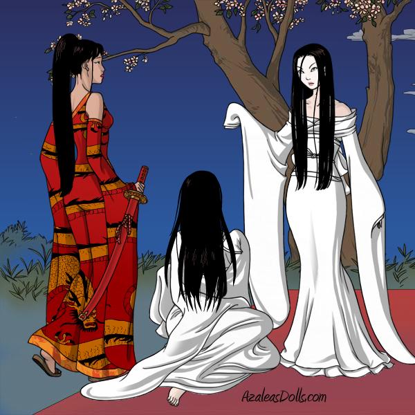 Geisha-Azaleas-Dolls-Halloween Contest by PrincesaSevilla