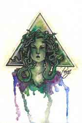 Medusa by PengArts