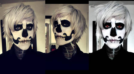 Make-up test Halloween!Prussia