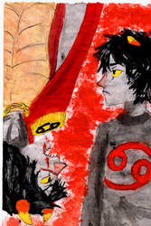 Karkat and The Sufferer by Go2-Chan