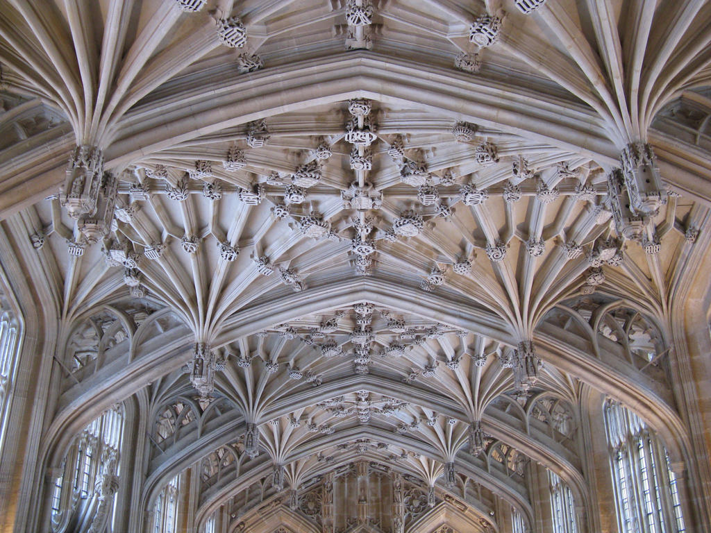 Oxford Divinity School Ceiling