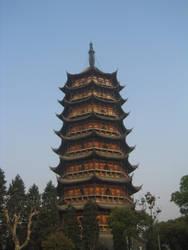 Pagoda in Suzhou, China