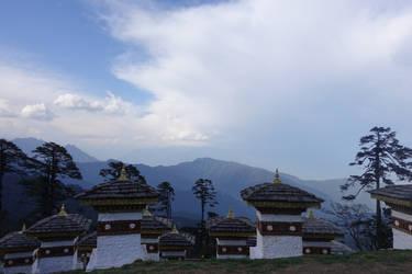 View from Dochu-la