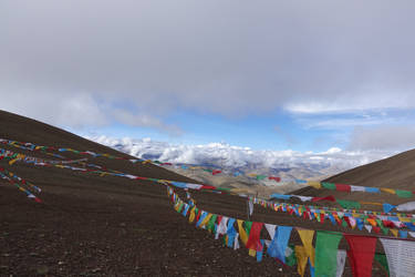 Holy Mother (Mt Everest) by Syltorian