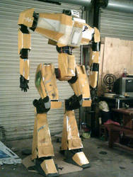 Life size borderlands loader bot WIP almost dun by drnightshade