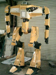 Life size borderlands loader bot WIP almost dun2 by drnightshade