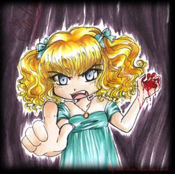 Claudia wants MORE by bibi-chan