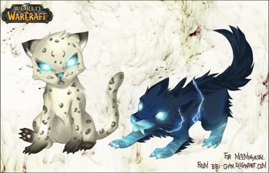 Pets WoW : Part I by bibi-chan