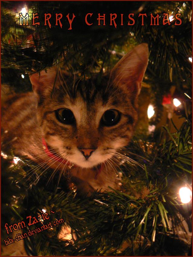 Merry Kitty-Christmas :: by bibi-chan on DeviantArt